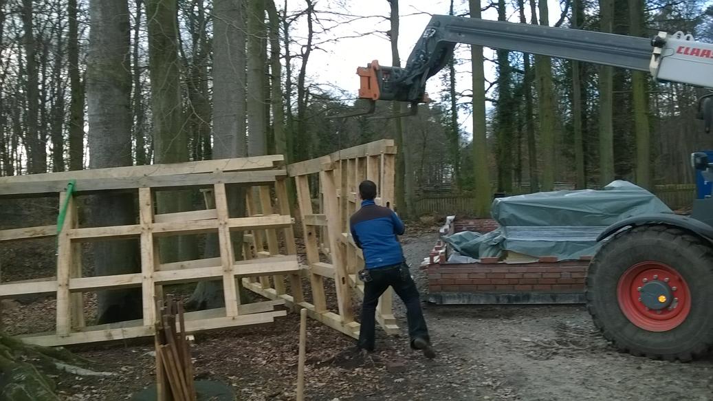 Bau Schulungsgebäude
